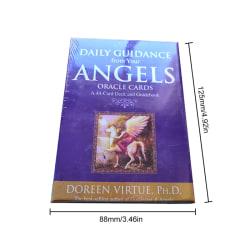 Tarotkort Daglig vägledning Angel Oracle Card Deck Table Game Pl
