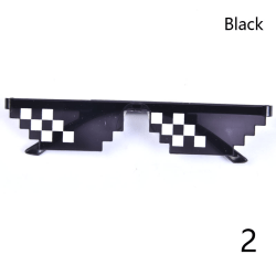 Thug Life Attitude Solglasögon 8 Bit Pixel Deal med IT Unisex G Black 2