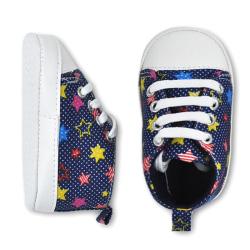 Småbarn Baby Boy Girl 20 färger Portable Soft Sole Crib Shoes I
