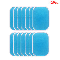 Trainer Replacement Gel Sheet EMS Abs Trainer Muscle Gel Pad Wa 12Pcs