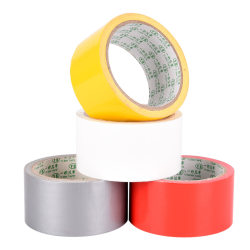Waterproof Black Highly Adhesive Heavy Duty Gaffer Cloth Duct T Red