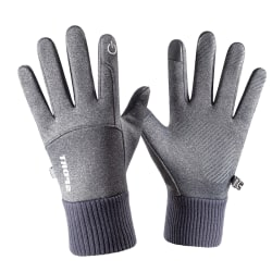Vinter utomhus sport handske Varm pekskärm Fitness Full Fin