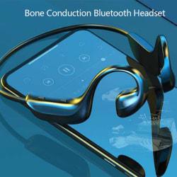 Wireless Bone Conduction Bluetooth Earphone Headset Sports Head onesize