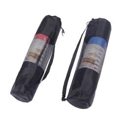Yoga Shoulder Bag Sports Gym Yoga Bag Storage Case Mat Carriers 6mm 66*22