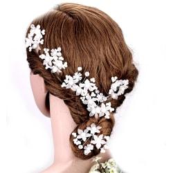 Blomma hårnålar Bröllop Pärla 2ST PACK