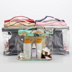 Förvaringsväska Travel Kosmetisk väska vattentät  grå
