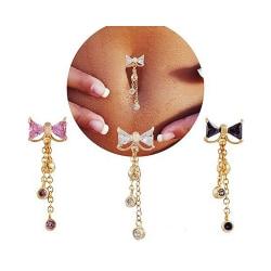 Navelpiercing Piercing smycken VIT
