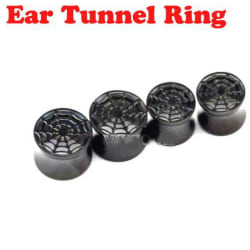 Plugg & Tunnel Öronpiercing 1 ST 10MM