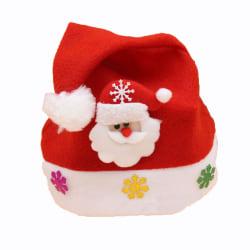 Pojke, flicka hatt God Jul