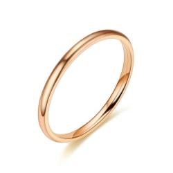 Rostfritt stål ring 2mm  20