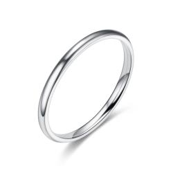 Rostfritt stål ring 2mm  19