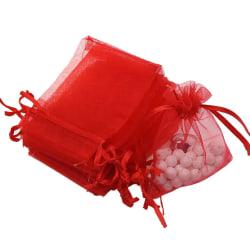 Smyckespåsar 5 ST PACK röd