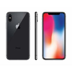 iPhone X, 64GB, Grade B, svart