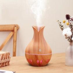 300ML USB Desktop Air Purifier Aroma Diffuser för Office Light wood grain