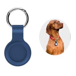 Silikonskyddshylsa för Apple Tracker Anti-lost Keychain black