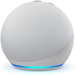 Amazon Echo Dot (4th gen.) with Alexa - Glacier White
