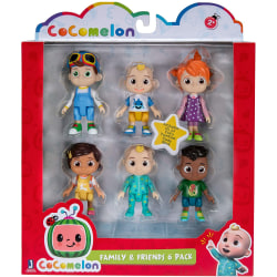 Cocomelon Family & Friends 6 Figure Pack Mixed