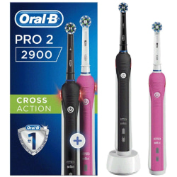 Oral-B Pro 2 2900 Set of 2 CrossAction Electric Toothbrush (UK)