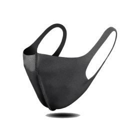 [ 6 PACK ] Tvättbar mask - Munskydd/Skyddsmask - SVART