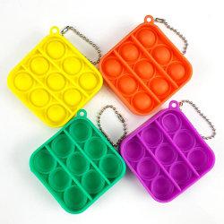 4-Pack Pop it Fidget Toy - Flera Färger & Modeller - Mini - Blan