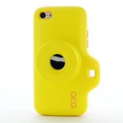 ACA Toy Camera Combo Skal till iPhone 5C (Gul)