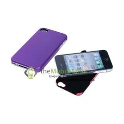 Aluminium Metal skal till iPhone 4S/4 (Magenta)