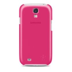 BELKIN Shield Sheer Matte Skal till Samsung Galaxy S4 - Rosa