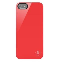 BELKIN Shield Skal till Apple iPhone 5/5S/SE(Röd)