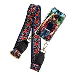 BOOM OF SWEDEN - Halsband mobilskal till Galaxy A40 - Belt Flowe