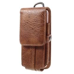 Carabiner Universal Bältesväska med plats för kort - Brun