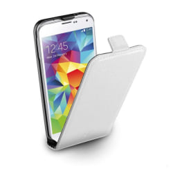 CellularLine Flap Essential för Samsung Galaxy S5 - Vit