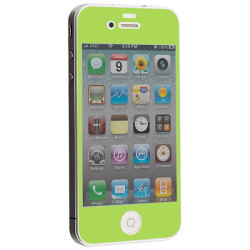 Colored Tempered Glass Skärmskydd till Apple iPhone 4   /   4S -