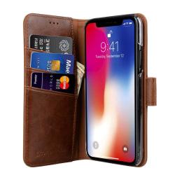CoveredGear Classic Wallet till iPhone XS / X - Brun
