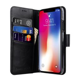 CoveredGear Classic Wallet till iPhone XS / X - Svart