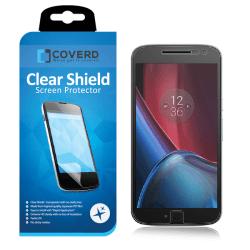 CoveredGear Clear Shield skärmskydd till Motorola Moto G4 Plus