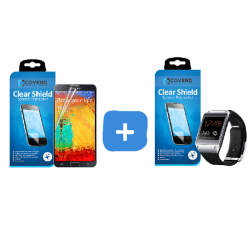 CoveredGear Clear skärmskydd till Samsung Galaxy Note 3 + Samsun