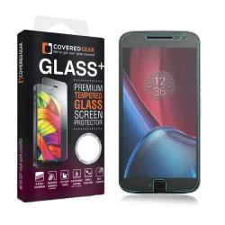 CoveredGear härdat glas skärmskydd till Motorola Moto G4 Plus