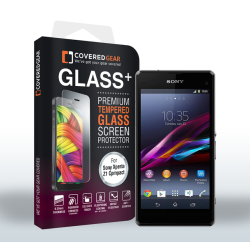 CoveredGear härdat glas skärmskydd till Sony Xperia Z1 Compact