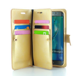 CoveredGear Liberty Wallet till Samsung Galaxy S6 Edge+ (Guld)