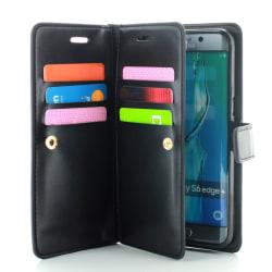 CoveredGear Liberty Wallet till Samsung Galaxy S6 Edge+ (Svart)