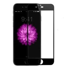 CoveredGear skärmskydd - iPhone 6 Plus Svart - Täcker hela skärm