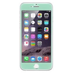 Curved Edge Colored Tempered Glass Skärmskkyd till Apple iPhone