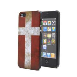 Danmarks flaggaBaksideskal till Apple iPhone 5/5S/SE