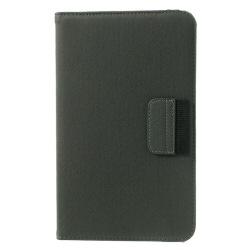 Denim Rotating Plånboksfodral till Samsung Galaxy Tab 4 8.0 (Grå