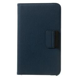Denim Rotating Plånboksfodral till Samsung Galaxy Tab 4 8.0 (Mör