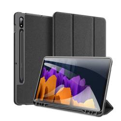Duxducis Domo Galaxy Tab S7 + Plus 12.4 T970 / T976 - Svart