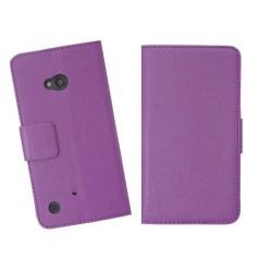 Embossed Plånboksväska till Nokia Lumia 720 (Lila)