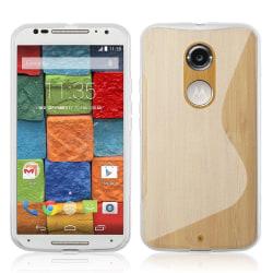 Flexicase Skal till Motorola Moto X2 - Transparent