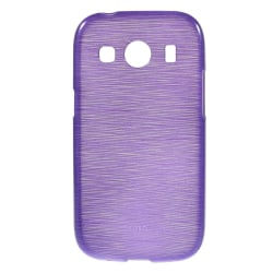Flexicase Skal till Samsung Galaxy Ace 4 (G357) - Brushed Lila