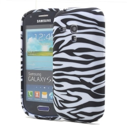 FlexiCase Skal till Samsung Galaxy S3 Mini i8190 - (Zebra)